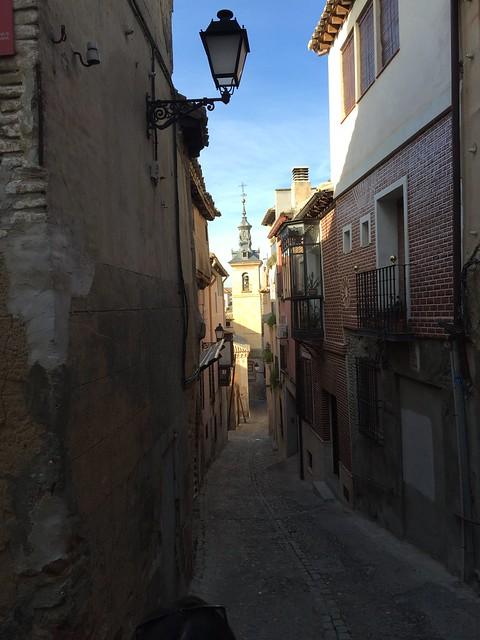 callejon, Toledo, Spain