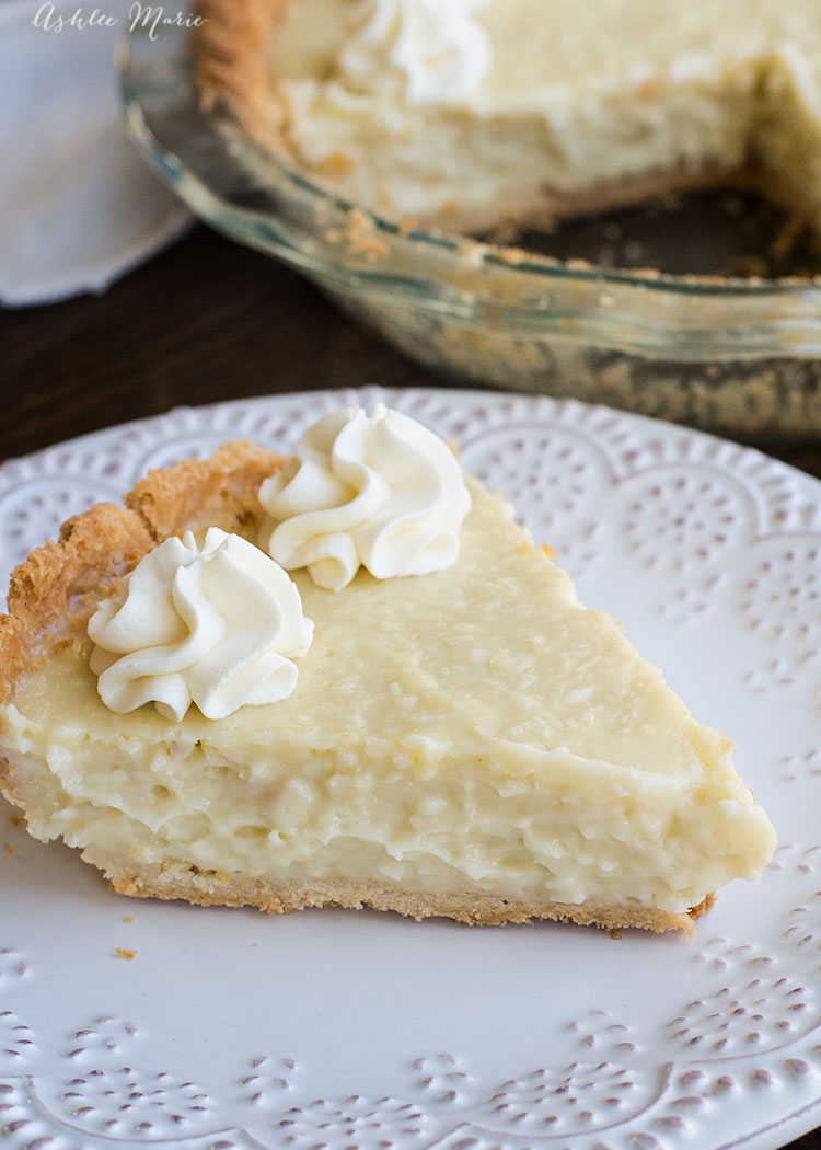 it doesn't get much better than this coconut cream pie - everyone will be raving over it