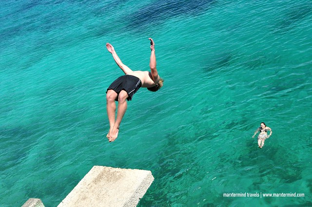 Cliff Diving at Salagdoong Beach Siquijor
