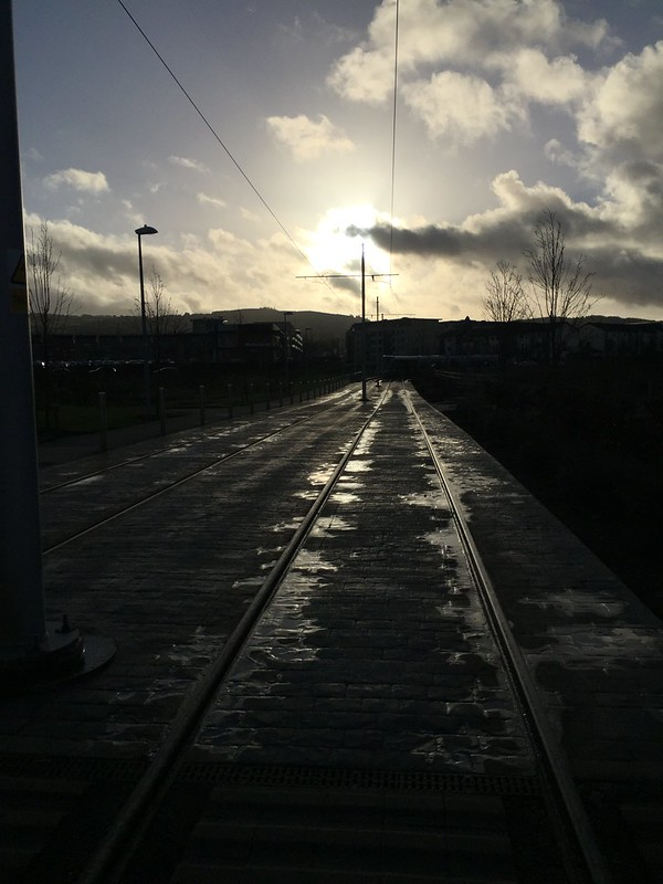 Tram Tracks, Citywest.