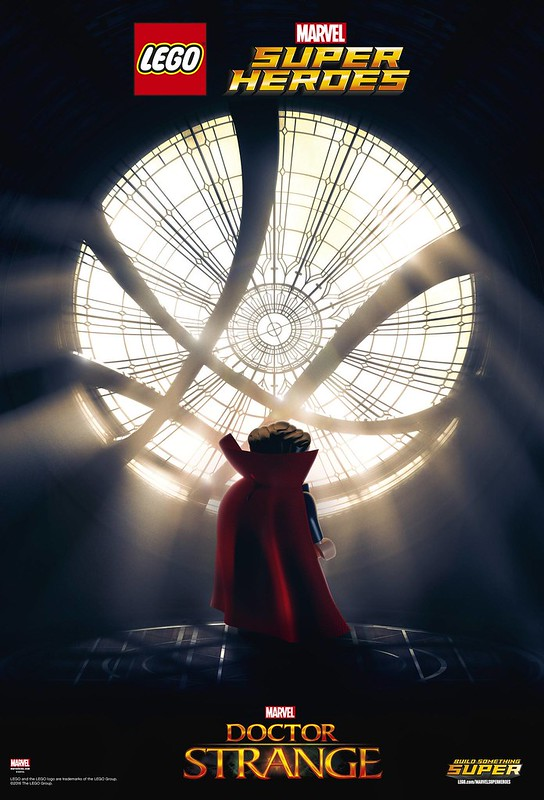 LEGO Marvel Superheroes Doctor Strange Movie Poster