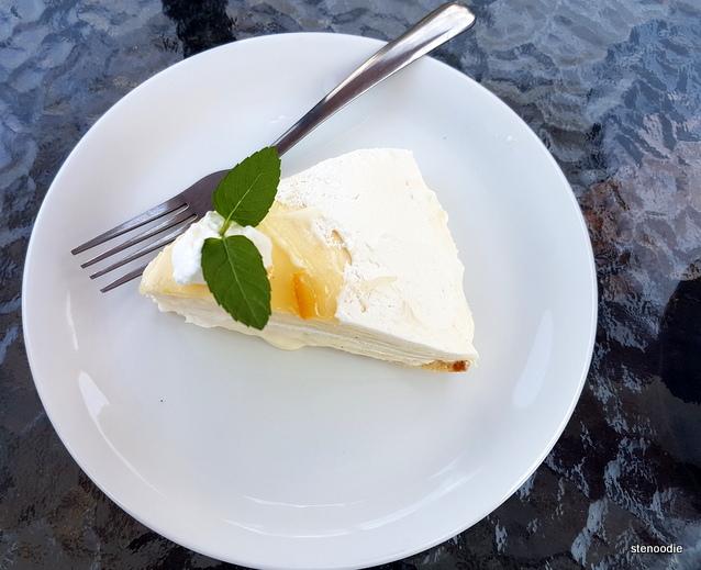 vanilla millie crepe cake