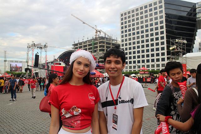 Coke Cola Tagahatid Pasko Christmas Concert Duane Bacon Sirene Suton Model Blogger