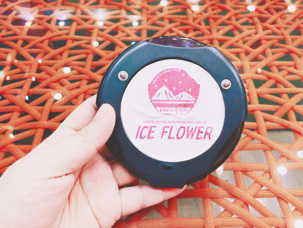 Ice Flower Snow Falling Korean Dessert Cafe | chainyan.co