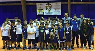 La squadra del settore giovanile Dinamo Basket