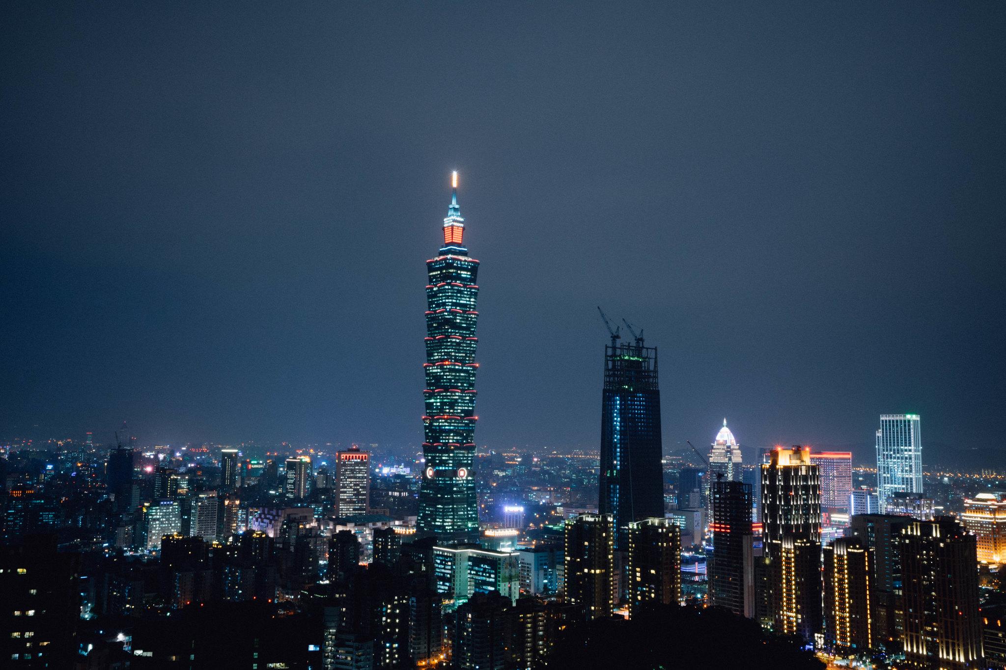 Taipei 101 @ 象山步道