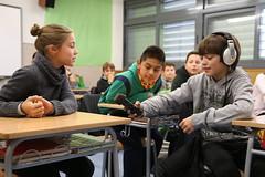 Taller radiofònic a l'Escola Les Fonts de Gelida
