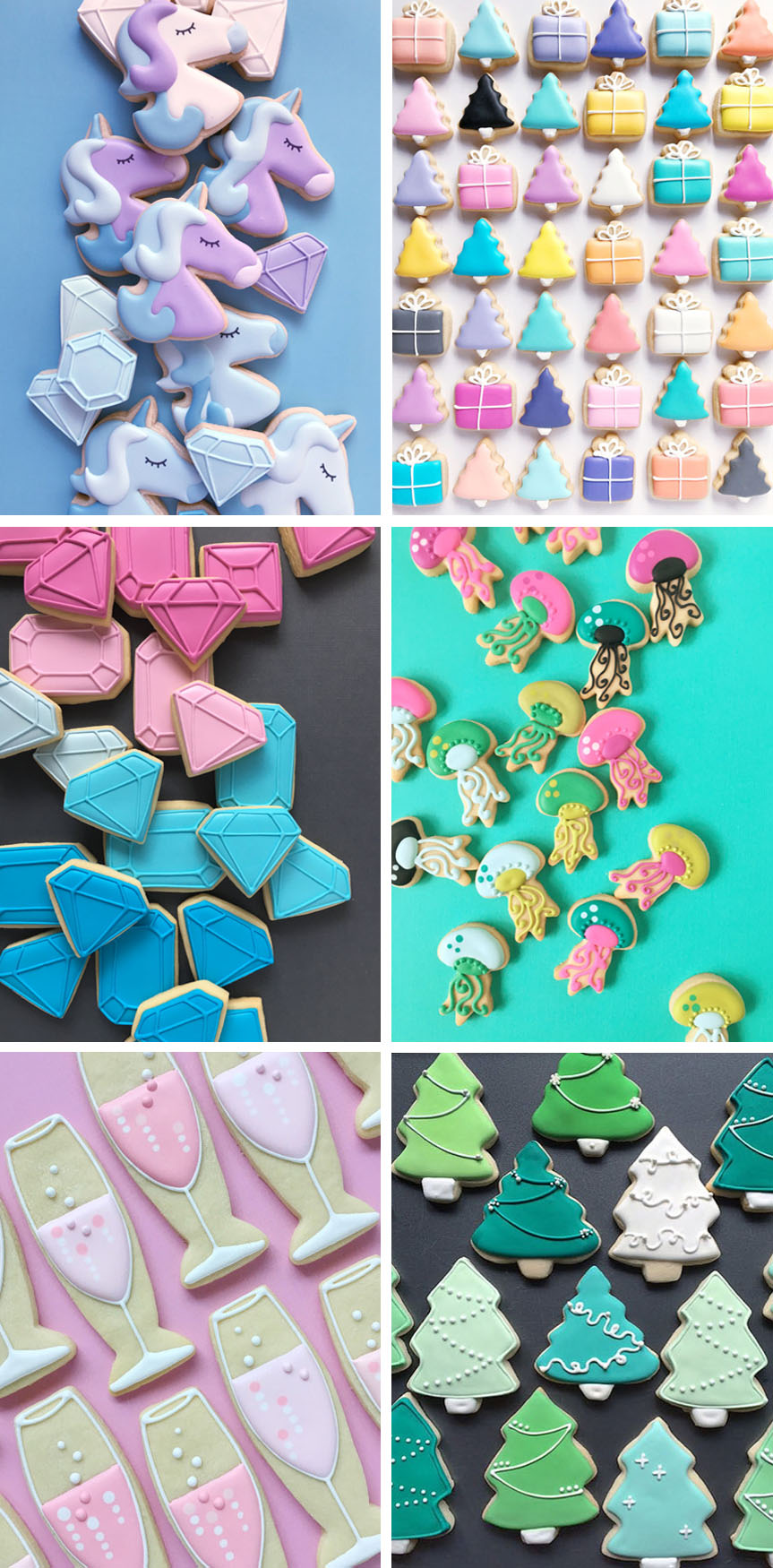 Holly Fox Designs - sugar cookies (on Etsy)