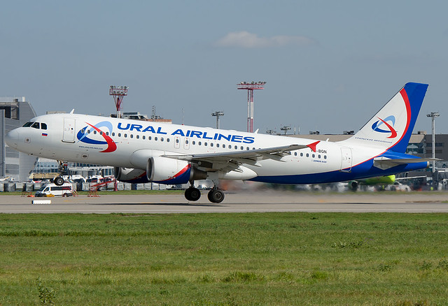 VQ-BQN  Ural Airlines Airbus A320-214