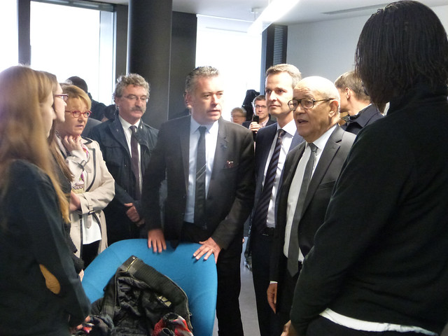 Inauguration Cité Internationale