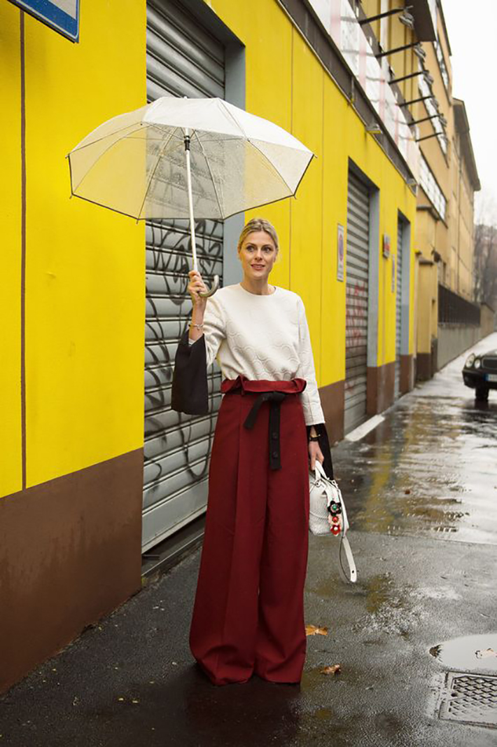 rainy day outfit accessories fall style streetstyle winter style fashion trend4