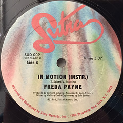 FREDA PAYNE:IN MOTION(LABEL SIDE-B)