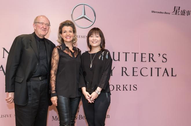 適逢「Mercedes-Benz星盛事」20周年台灣賓士再次邀請德國小提琴女神安‧蘇菲‧慕特擔任精采壓軸演出