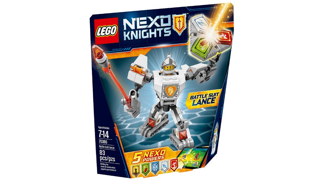 LEGO Nexo Knights 70366 - Battle Suit Lance
