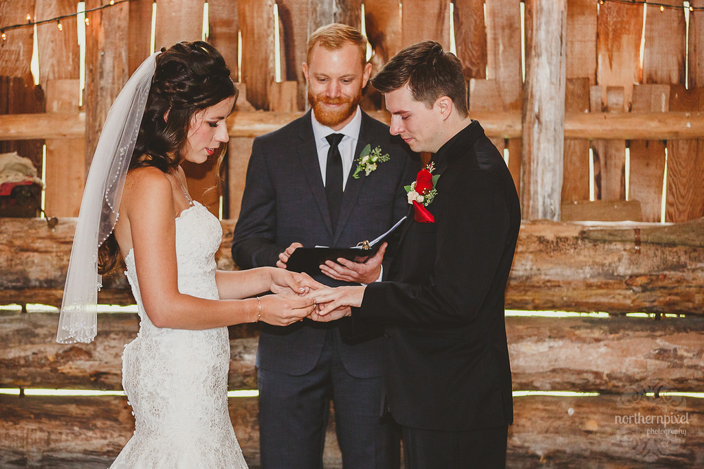 Wedding Ceremony - Huble Homestead