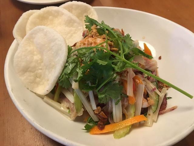 Lotus root salad - Mau
