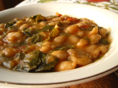 Tuscan Bean Soup - Woodwind Gourmet