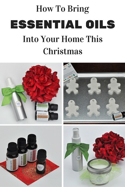 How To Bring Essential Oils Into Your Home This Christmas