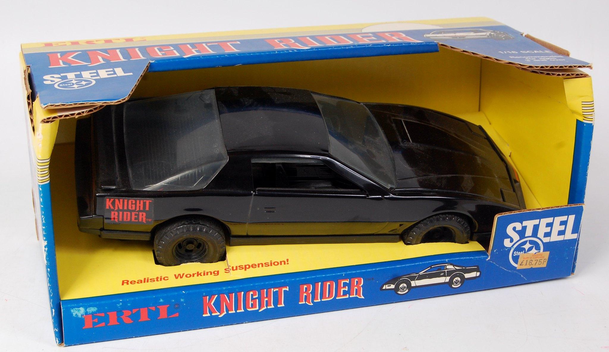 #Fave80sCar ERTL Knight Rider KITT Knight 2000