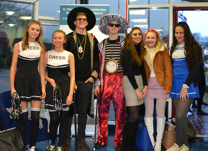 Sixth Form Fancy Dress Day Advent 2015