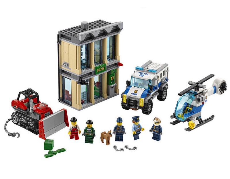 LEGO City 2017 - Bulldozer Break-In (60140)