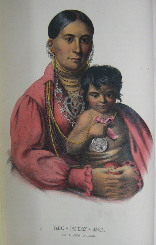 "Portraits from ""History of the Indian Tribes of North America (1838–1844)"""