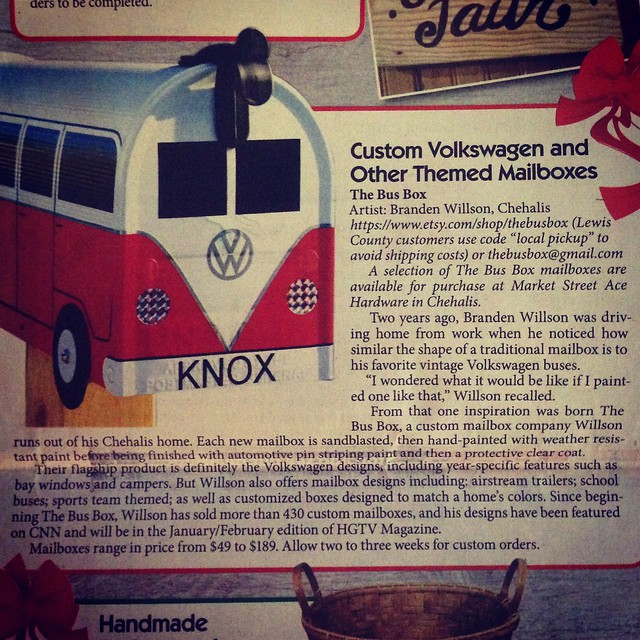 Local Newspaper Feature of TheBusBox