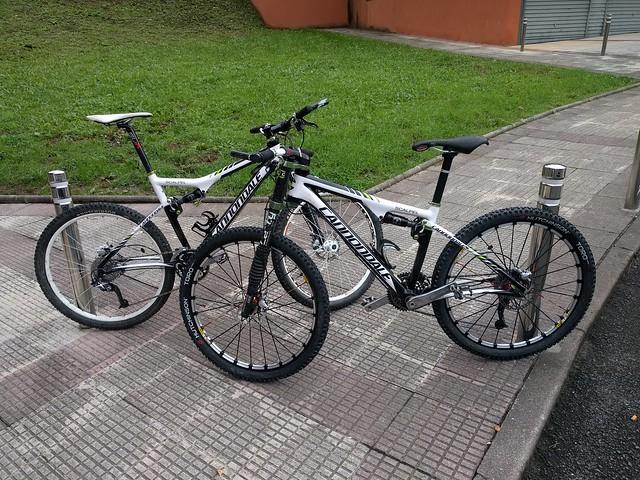 Bicicletas de segunda mano dobles: Cannondale Scapel Hi Mod. Vendemos las nuestras
