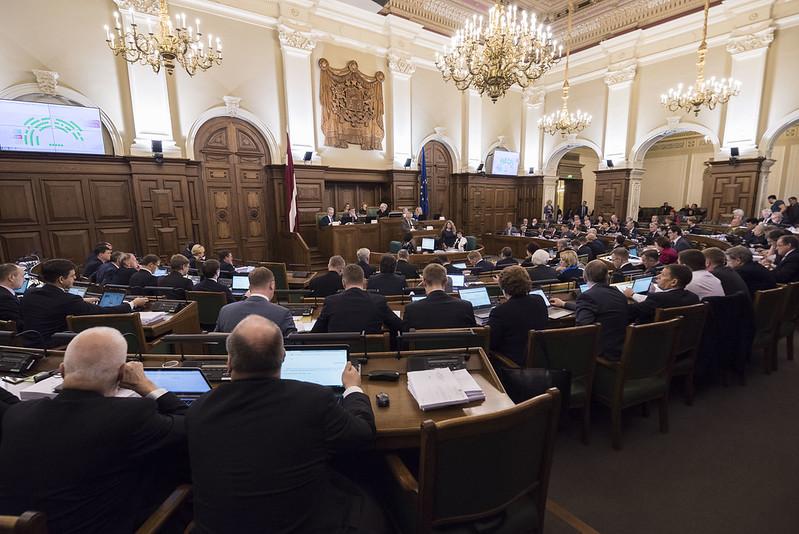 23.novembra Saeimas ārkārtas sēde