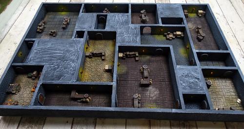 Dungeon 90x60cm