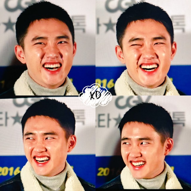 161124 D.O at 'Hyung' Movie Star Live Talk