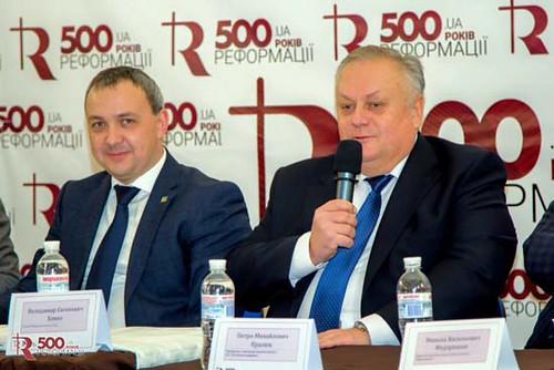 Хомко і Муляренко «таємно» відсвяткували 500-річчя протестантської церкви