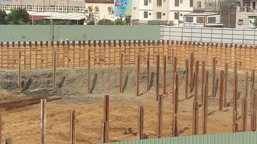 大潤發停車場大魯閣的地基土壤03