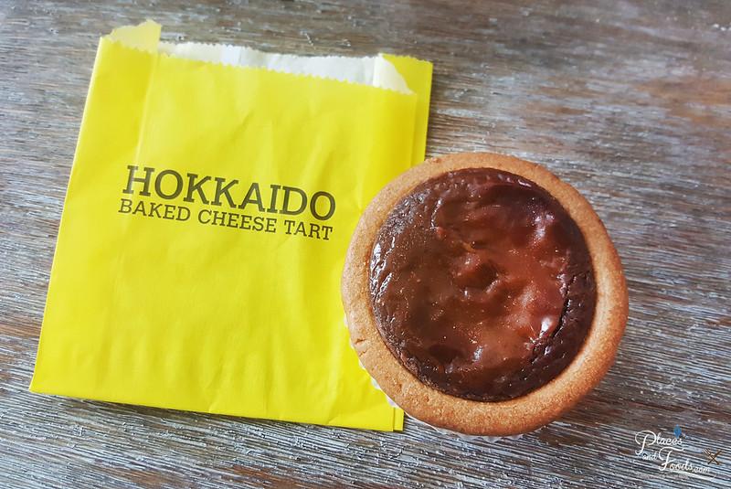 hokkaido baked cheese tart chocolate