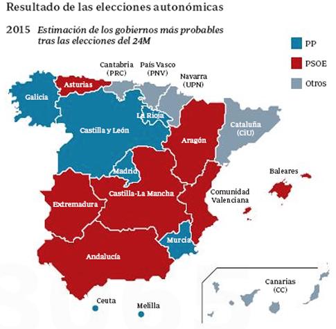 15e25 Elecciones autonómicas
