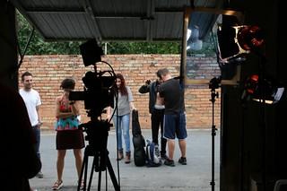Rodaje corto de ficción Coopera-T, realizado con metodologías de audioviosual participativo