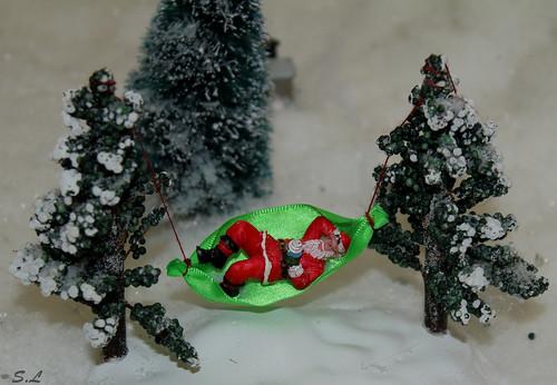 Le père Noël a fini sa tournée