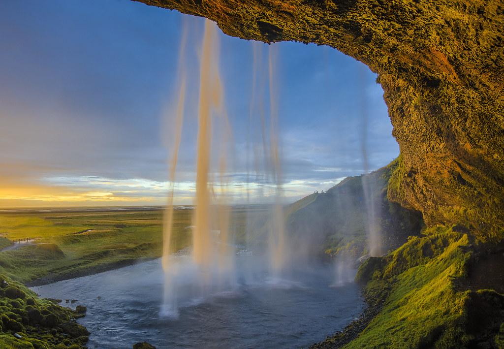Seljalandsfoss Waterfall Iceland 10/2016