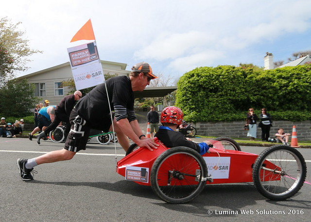 GO Waihi Trolley Derby 2016