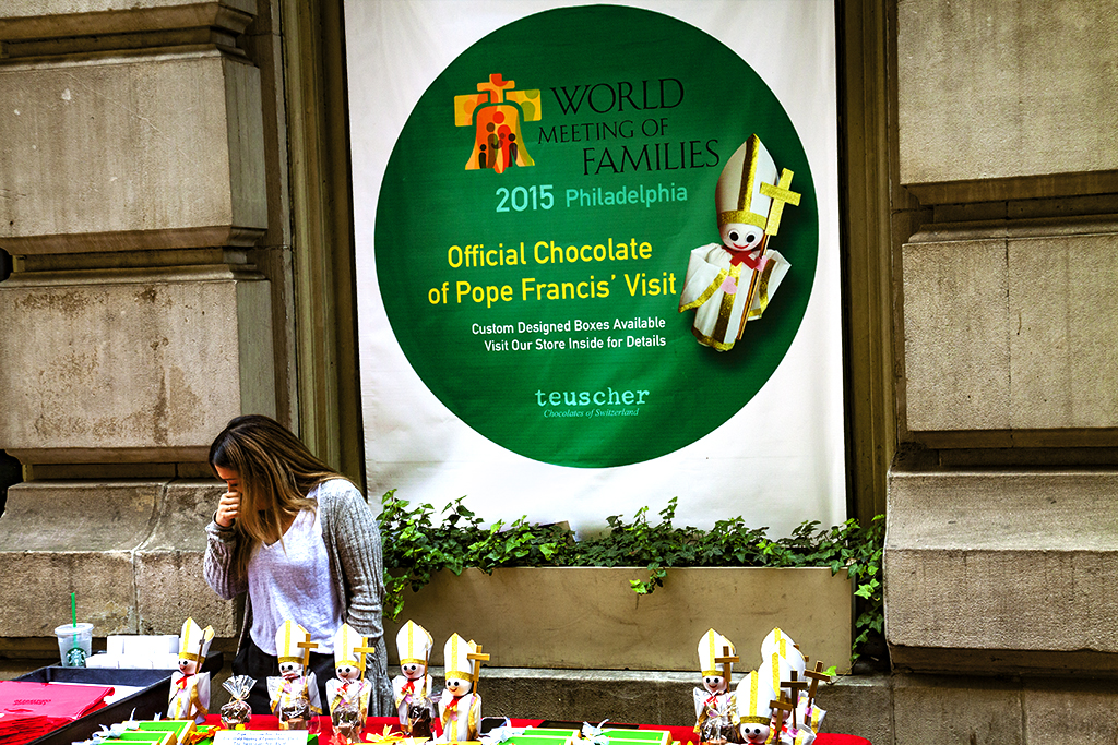 Official Chocolate of Pope Francis' Visit--Center City