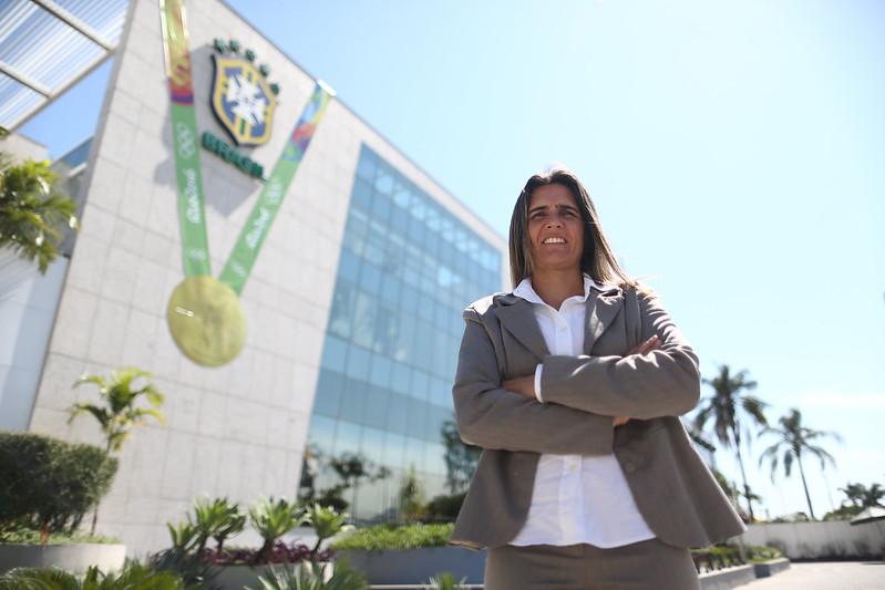 Emily Lima, nova técnica da Seleção Brasileira Feminina