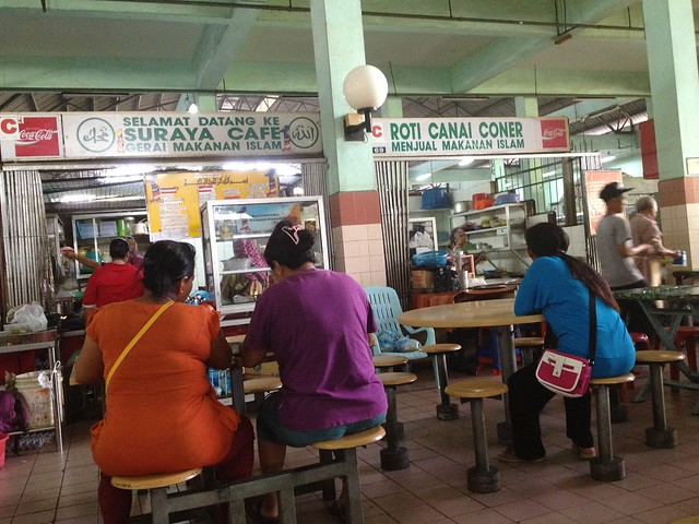 Food court halal central market sibu