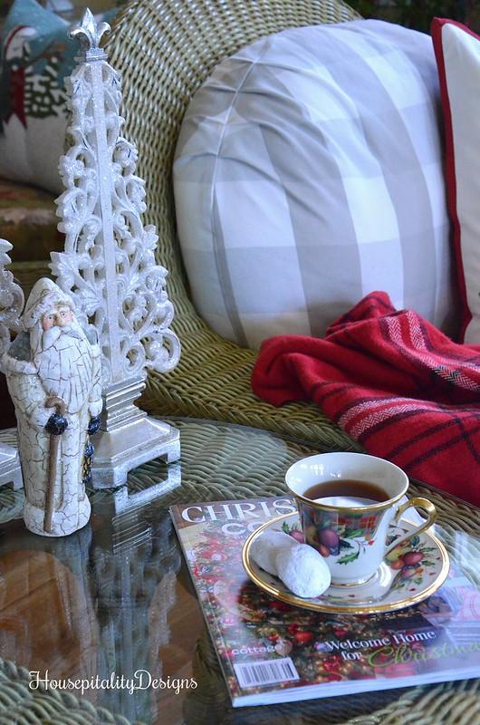 Tea Time - Sunroom - Housepitality Designs