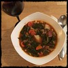 #Portuguese #soup #collards #homemade #CucinaDelloZio -