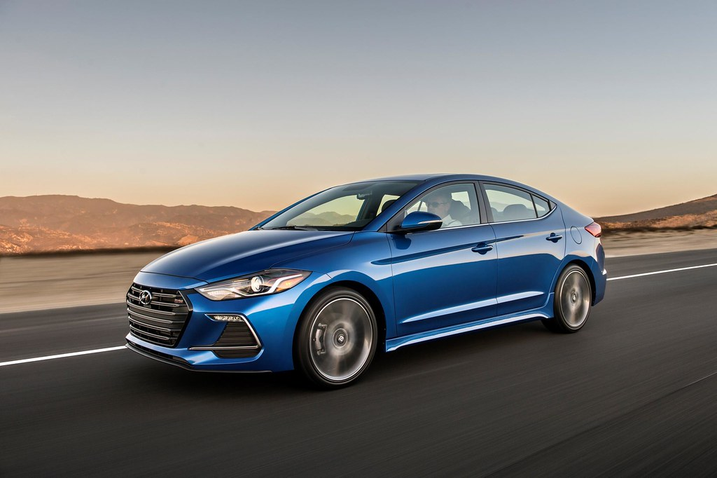 This is the 2017 Hyundai Elantra Sport