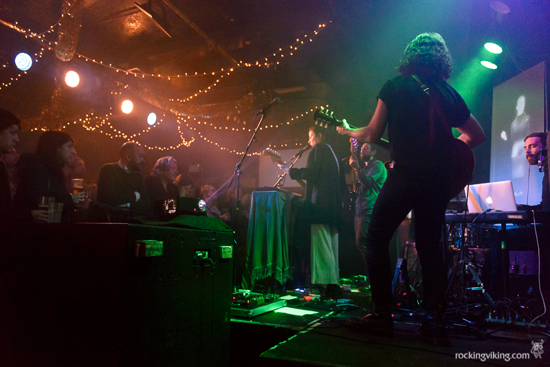 Emmy the Great with band performing at Leadmill in Sheffield