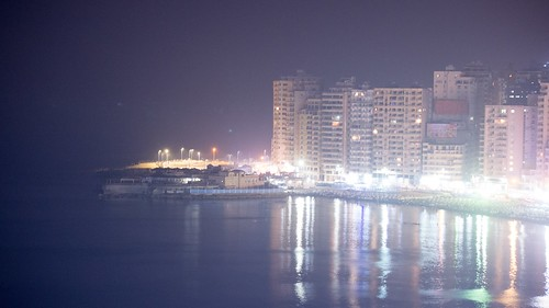 Alexandria's city lights