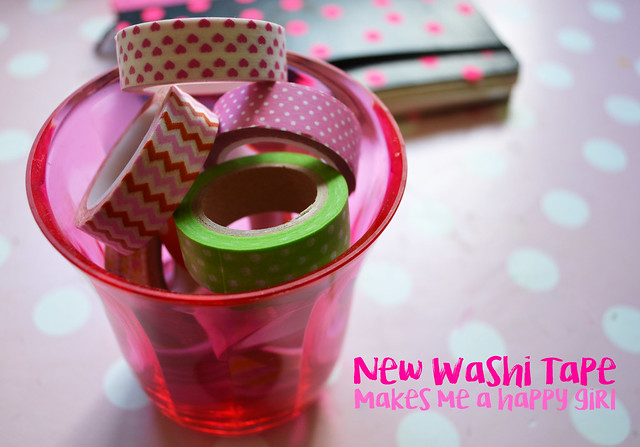 Can new washi tape make you Happy?