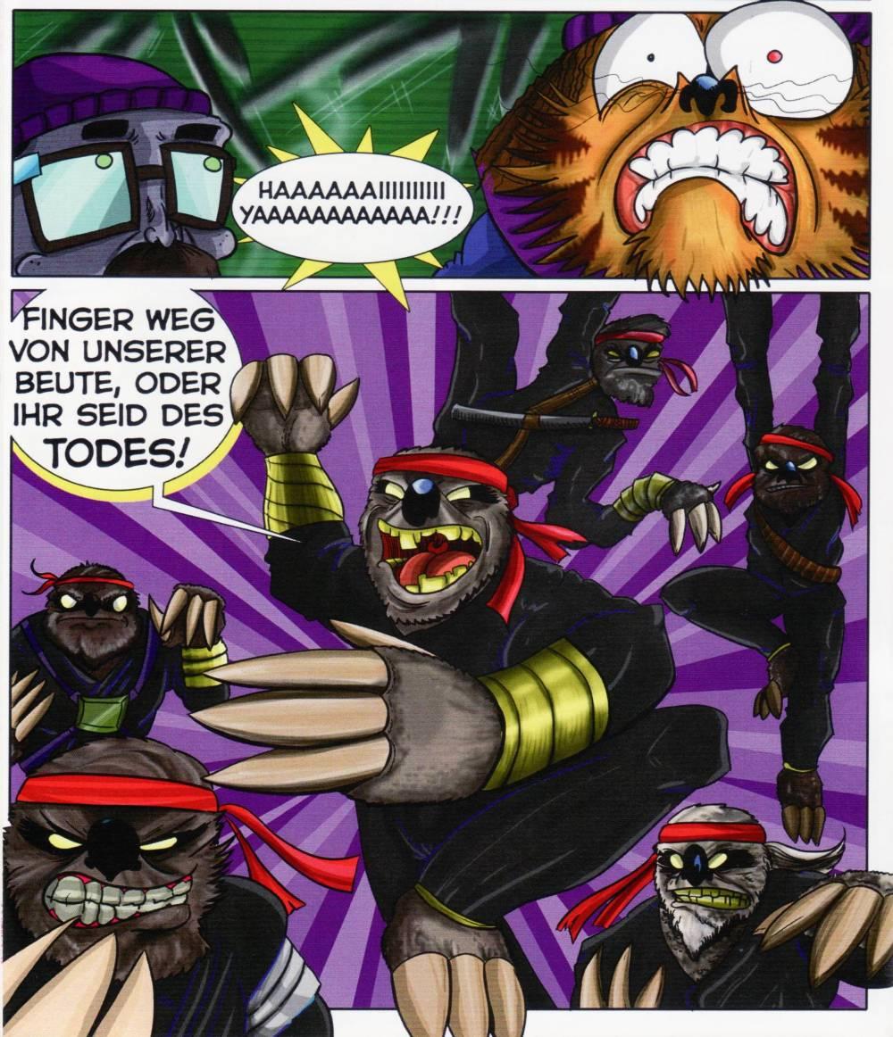 Ninja Faultiere? Echt jetzt?