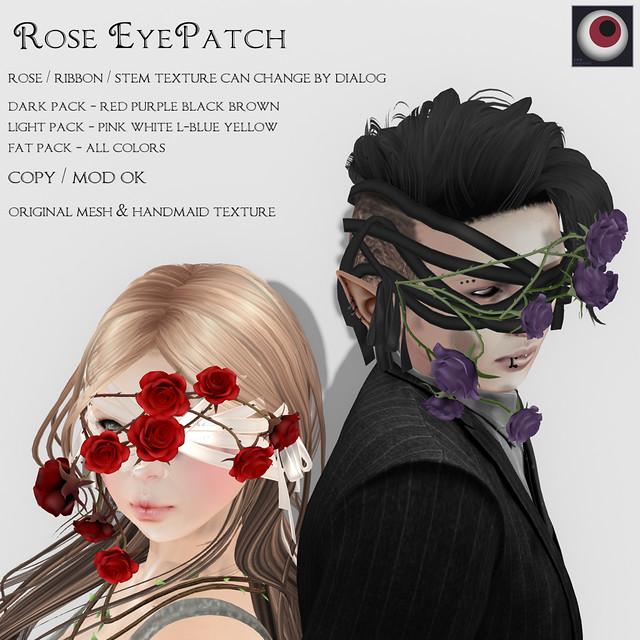 *NAMINOKE* - Rose Eyapatch AD1